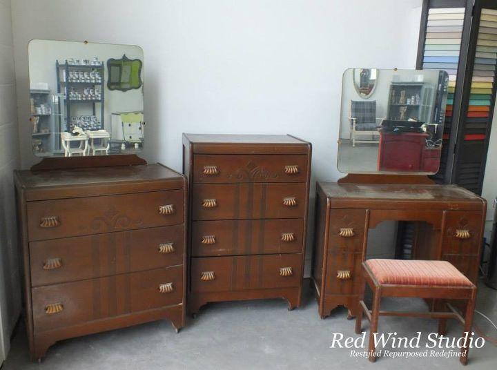 vintage x three, bedroom ideas, home decor, painted furniture