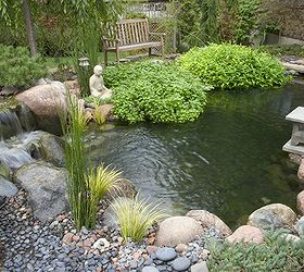 Small Water Gardens, Outdoor Living, Patio, Ponds Water Features, This  Small Pond