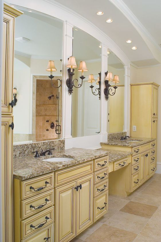 (The master bath in the same home) - AK
