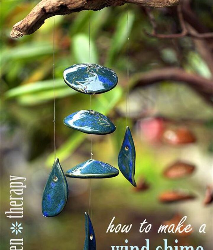 how to make a wind chime, crafts, gardening