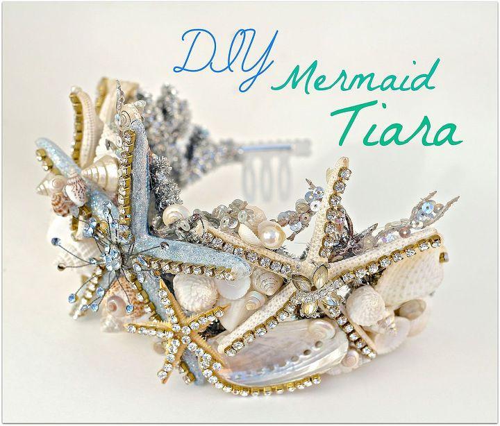 diy mermaid halloween costume, crafts