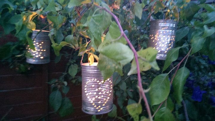 Make these cute repurposed soup tin lanterns in 5 easy steps....