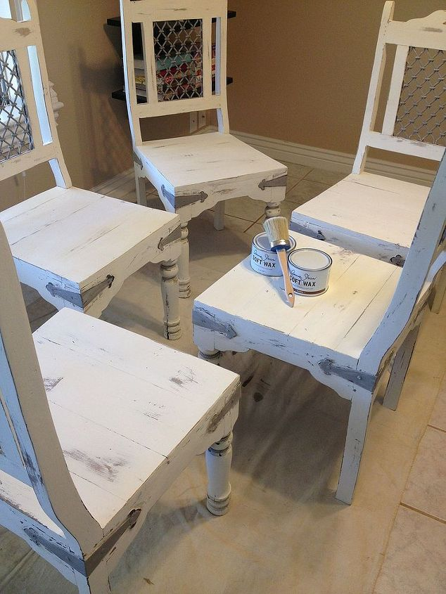 old dining room table new look, chalk paint, painted furniture