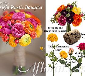 Diy Bright Rustic Bouquet Hometalk
