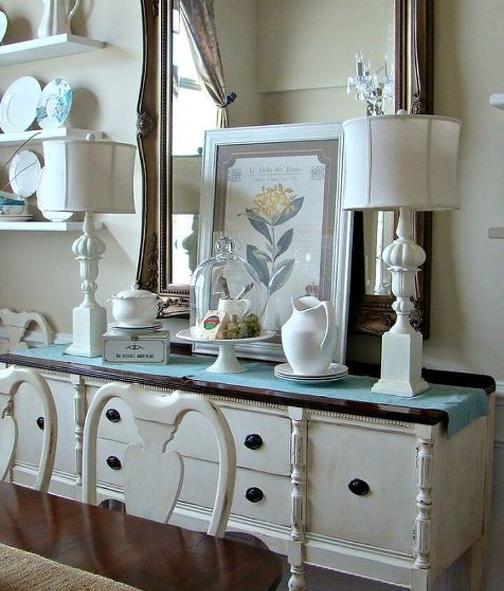 "I love to ""shop the house"" to create new vignettes."