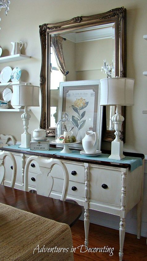 """I love to """"shop the house"""" to create new vignettes."""
