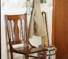 how to create a drop space, cleaning tips, diy, how to, shelving ideas