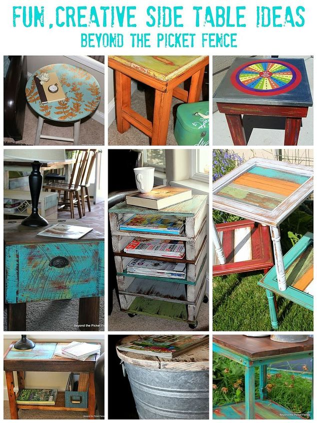Fun Side Table Ideas You Can Make Hometalk