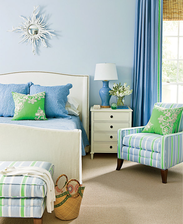 This deeper shade of periwinkle is calming in a child's space. Shop this kids bedroom > http://wayfair.ly/16jcwMT