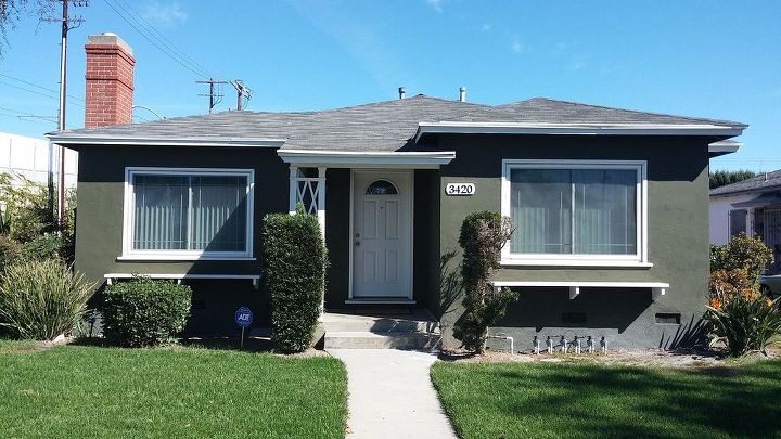 culver city, curb appeal, painting