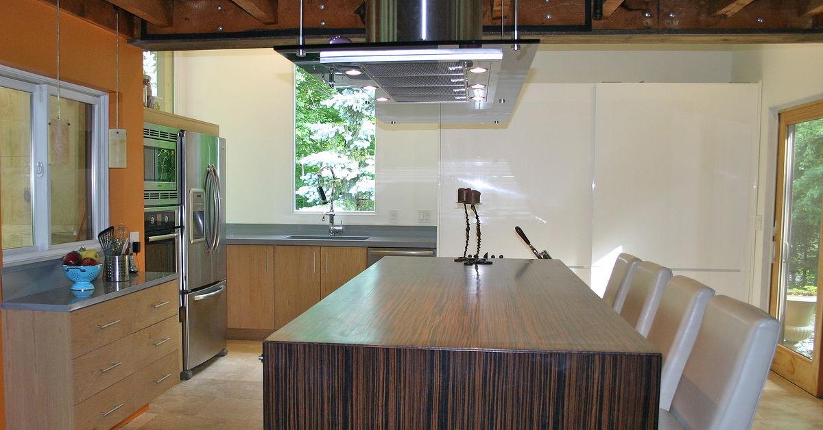 modern kitchen design in Vermont: j.t. Dufour Design LLC ...