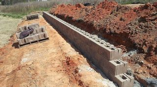 Cheapest Way To Make A Large Retaining Wall Hometalk