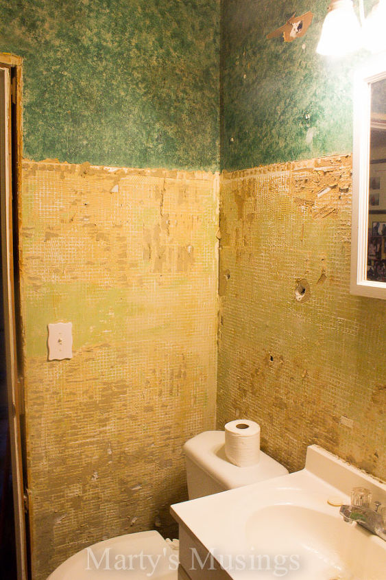 With tile removed