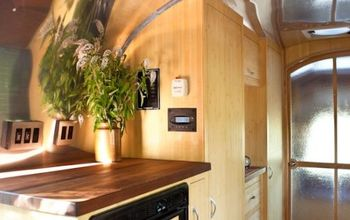 Beautiful and Green:  Runaround Sue -- 1961 Vintage Airstream Safari Renovation