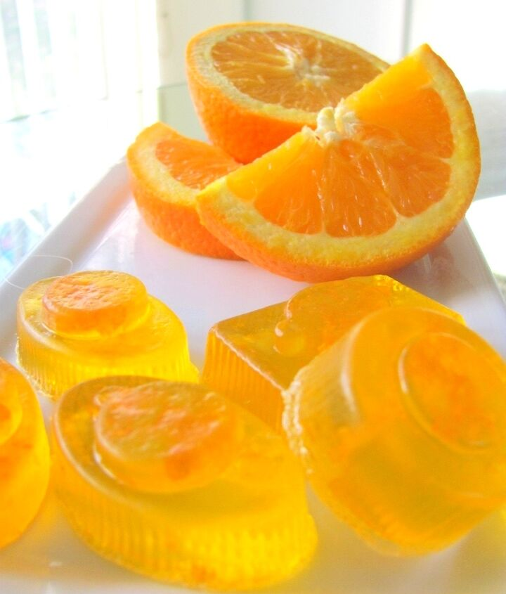 making natural citrus soaps, crafts, Here are the orange soaps Aren t they sweet I love them so much And the scent is just subtle not overwhelming