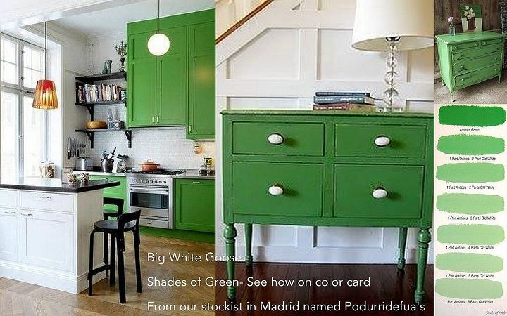 how to mix antibes chalk paint paint by annie sloan with old white, chalk paint, painted furniture, Beautiful shades of Chalk Paint Antibes and how to mix various shades with Old White