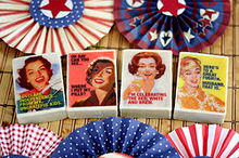 how to personalize soap with funny retro graphics, crafts, decoupage, seasonal holiday decor