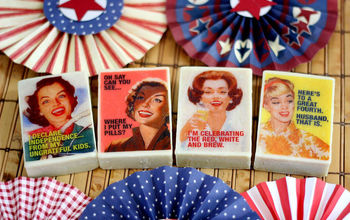 How to Personalize Soap With Funny Retro Graphics