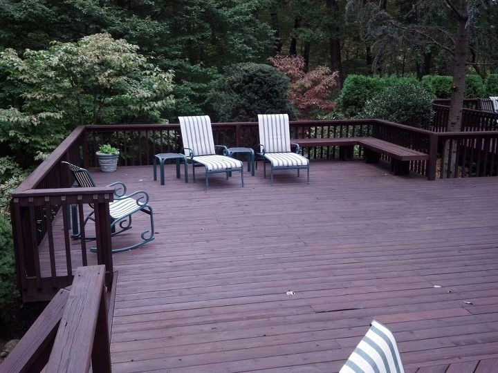 Classic Deck and Patio Company bench and rail