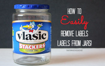 How to Easily Remove a Label From a Jar or Bottle