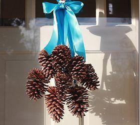 Delicieux Pine Cone Door Decoration