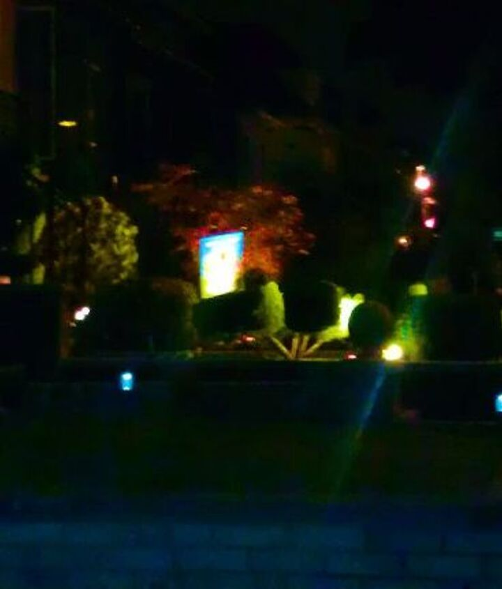 Mix and matching of colorful solar lights.