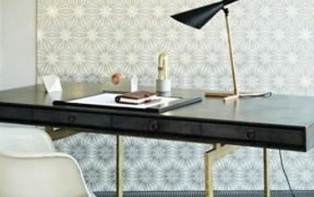 black white and gold all over trend, home decor, painted furniture