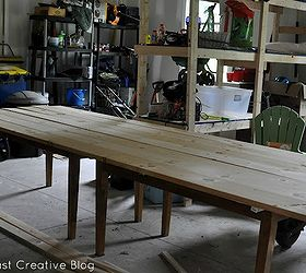 Make Your Own Farmhouse Table The Easy Way, Diy, How To, Painted Furniture