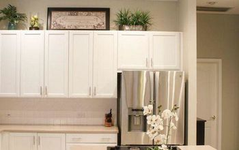 painted kitchen cabinets, home decor, kitchen cabinets, kitchen design, my painted kitchen cabinets After