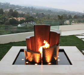 Unique Water Fountains, Outdoor Living, Ponds Water Features, Unique Water  Fountain Fire And