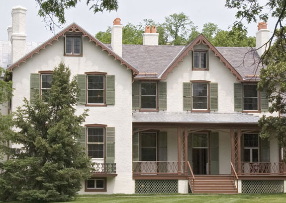 historical restoration lincoln cottage, architecture, curb appeal, Lincoln s Cottage proudly wears Timberlane Shutters