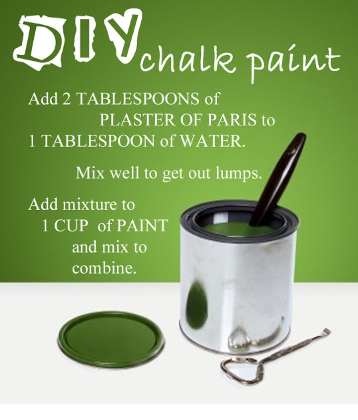 making your own chalk paint, chalk paint, painting