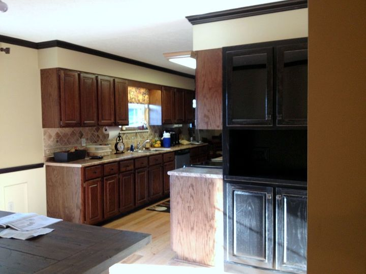 q what would you do with this space, home decor, kitchen cabinets, kitchen design