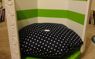 upcycled doggy bed, repurposing upcycling, The finished doggy bed