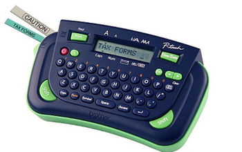 label makers are your friend, organizing