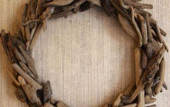 DIY Restoration Hardware Driftwood Wreath Tutorial
