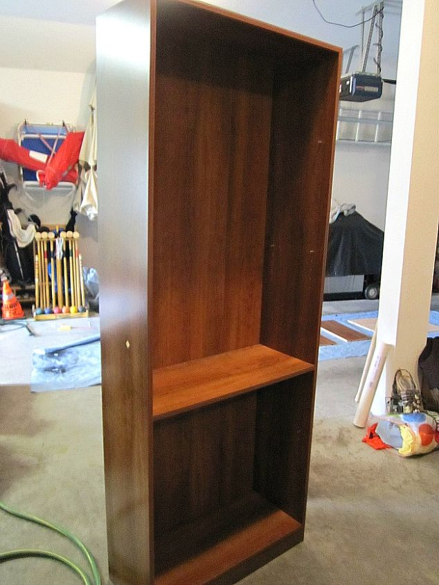 Save On Space By Turning A Bookcase Into Desk Here S How Painted Furniture