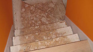 q help on renovating carpeted staircase, flooring, stairs, before