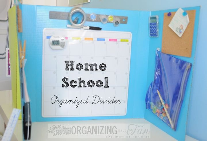 Dividers for homeschooling