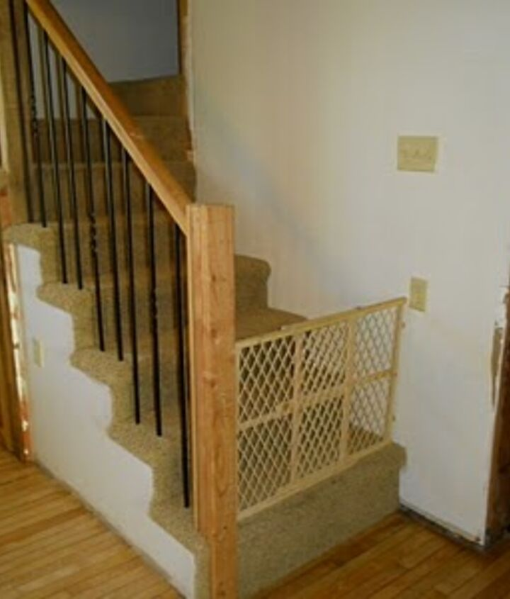 """The new steps, underneath of which is affectionately named """"The Harry Potter Suite"""""""