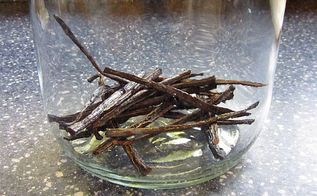 saving money on home ownership in 2014, gardening, home maintenance repairs, repurposing upcycling, Blogger BrownThumbMamma made vanilla extract at home way less expensive than the storebought kind And it makes a great gift