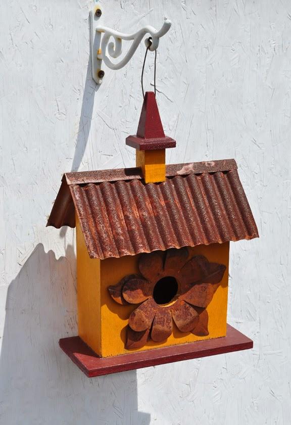 10 great ways to display birdhouses in your garden, gardening
