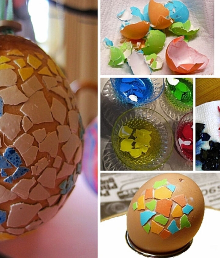 four dazzling easter egg decoration techniques, crafts, decoupage, easter decorations, painting, seasonal holiday decor