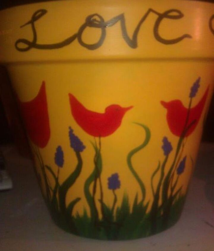 painted pots, christmas decorations, crafts, seasonal holiday decor
