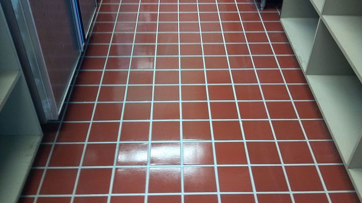 How To Refinish A Commercial Tile Floor To Look Like New Hometalk