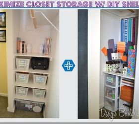 7 Simple Steps To Create Cheap Easy Built In Closet Storage, Cleaning Tips,  Closet