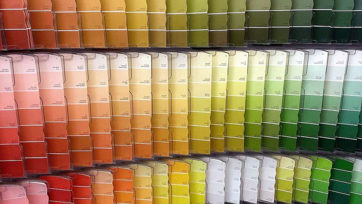 picking the perfect paint, painting, Paint chips are a great place to start but they don t reflect the finish of the paint or the texture of the wall