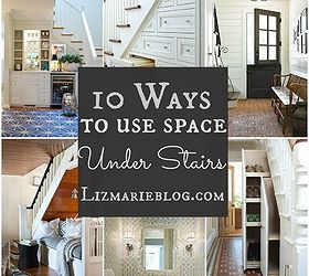 10 Ways To Use Space Under Stairs, Closet, Stairs, Storage Ideas, 10