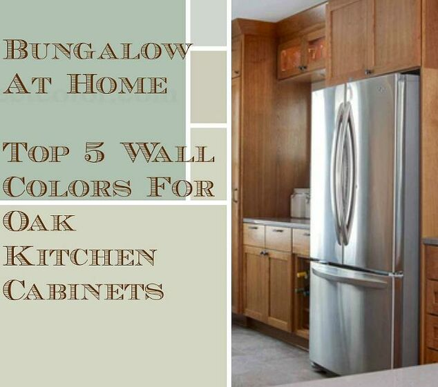 Favorite Kitchen Cabinet Paint Colors: 5 Top Wall Colors For Kitchens With Oak Cabinets