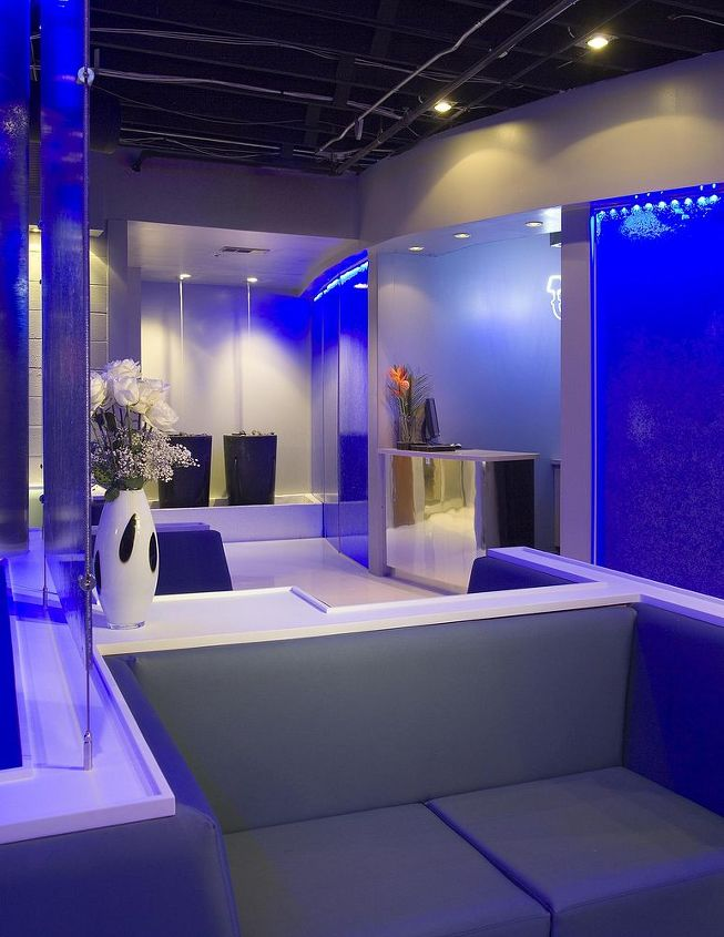 we love to work on a variety of projects these pictures are from a nightclub space, home decor